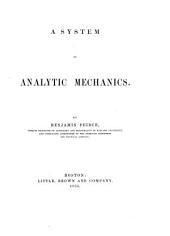 Analytic mechanics