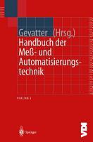 Handbuch der Mess  und Automatisierungstechnik in der Produktion PDF