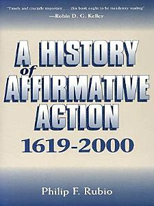 A History of Affirmative Action  1619 2000