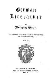 German literature: Volume 2