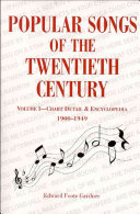 Popular Songs of the Twentieth Century PDF