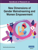New Dimensions of Gender Mainstreaming and Women Empowerment Book