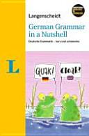 German grammar in a nutshell