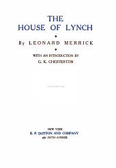 The House of Lynch: Volume 7