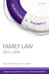 Q A Revision Guide Family Law 2013 And 2014 Book PDF