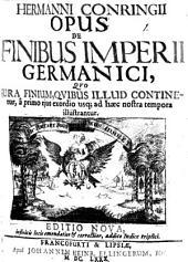De finibus Imperii Germanici