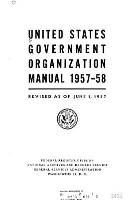 United States Government Manual PDF