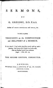 Sermons ... To which are prefixed, Thoughts on the composition and delivery of a sermon