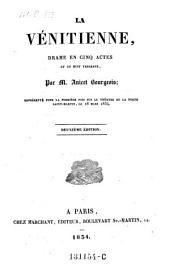 La Venitienne, drame en 5 actes