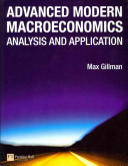 Advanced Modern Macroeconomics