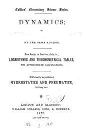 Dynamics; or, Theoretical mechanics