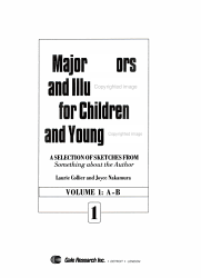 Major Authors And Illustrators For Children And Young Adults Book PDF