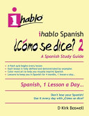Ihablo Spanish   C  mo Se Dice  2 PDF
