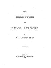 The Preparation of Specimens for Clinical Microscopy