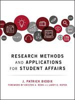Research Methods and Applications for Student Affairs PDF