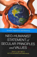 Neo Humanist Statement of Secular Principles and Values