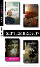 8 romans Black Rose + 1 gratuit (no443 à 446 - Septembre 2017)