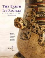 The Earth and Its Peoples  A Global History  Volume B  1200 1870 PDF