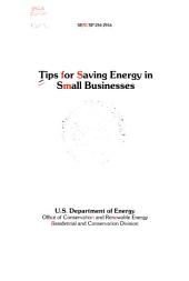 Tips for saving energy in small businesses