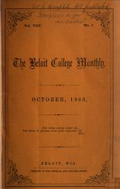 Beloit College Monthly: Volume 8