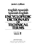 English-Spanish, Spanish-English, Encyclopedic Dictionary of Technical Terms