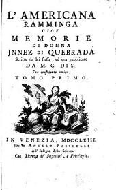 L'Americana ramminga, cioè, Memorie di donna Jnnez di Quebrada