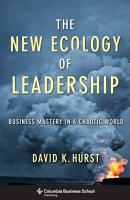 The New Ecology of Leadership PDF