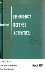 Handbook, Emergency Defense Activities