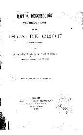 RAPIDA DESCRIPCION FISICIA, GEOLOGICA Y MINERA DE LA ISLA DE CEBU