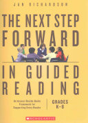 The Next Step Forward in Guided Reading Book