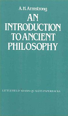 An Introduction to Ancient Philosophy PDF