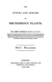 The Genera and Species of Orchideous Plants