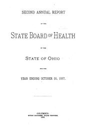 Annual Report of the State Board of Health of the State of Ohio, for the Year Ending: Volume 2