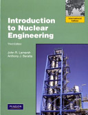 Introduction To Nuclear Engineering