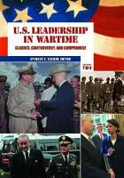 U S  Leadership in Wartime PDF