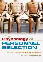 The Psychology of Personnel Selection PDF
