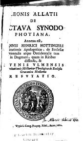 De octava synodo Photiana