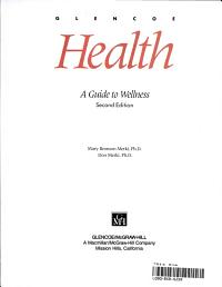 Glencoe Health  Student textbook