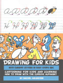 Drawing for Kids with Cursive Letters in Easy Steps ABC PDF