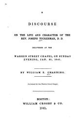 A Discourse on the Life and Character of the Rev. Joseph Tuckerman: Part 4