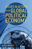 Issues and Actors in the Global Political Economy PDF