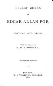 Select Works of Edgar Allan Poe: Poetical and Prose, Volume 44; Volume 115