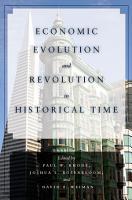 Economic Evolution and Revolution in Historical Time PDF