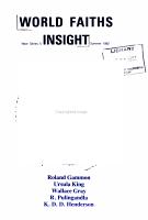 World Faiths Insight PDF