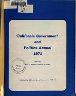 California Government and Politics Annual