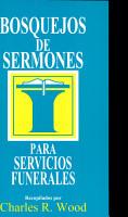 Bosquejos de sermones  Funerales PDF