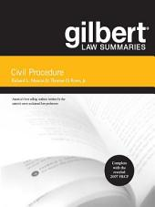 Gilbert Law Summaries on Civil Procedure, 17th: Edition 17
