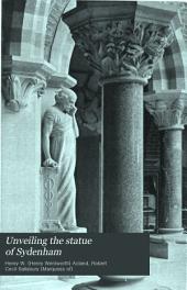 Unveiling the Statue of Sydenham