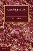 Comparative Law PDF