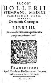 De materia chirurgica: lib. VIII.
